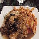 34G Chicken Marsala w. Pasta - Foodie2758