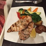 34H Grilled Chicken w. steam vegetables & unwanted potatoes - Foodie2758
