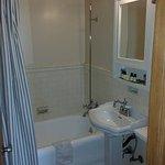 Room 213 bathroom.