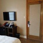 Room 213 door. Those are the ORIGINAL hardwood floors.