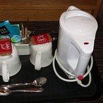 Coffee making facilities - again, very basic