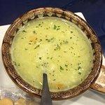Avgolemano soup