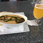 Great Fish soup and local ale