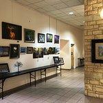 Local art exhibit