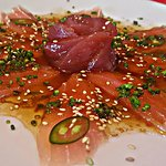 Marlin and Tuna Sashimi