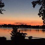 Sunset at Lakeside B&B