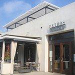 Exerior of Petros at Manhattan Beach