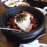 Kimchi rice bowl