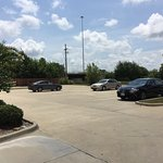 Almost empty parking lot, yet front desk manager states they were sold out on Friday, 7/29/2016