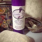 the lavender & patchoili cream is amazing! they also sell smudge sticks, and popouri filled clot