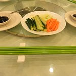 Condiments for the Peking Duck
