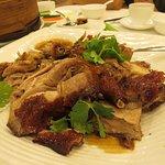 Cut up duck carcasse