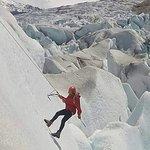 Escanlando glaciar viedma