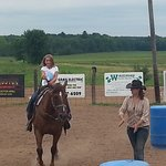 Prequalification for a young rider.
