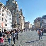 Elbufer Dresden Foto