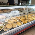 Quiches and Fritatas, with prepared salads- Delish, Cheap, and Easy