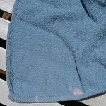 These are the towels I spoke about and the burns in the main bed spread