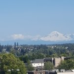 Mount Baker - view from our huge private deck