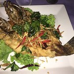 delicious whole fish for dinner