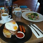 Big Breakfast and Omlette