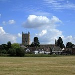 Tewkesbury Abbey-billede