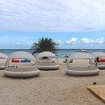 Beach pods