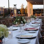 Social Terrace - Wedding Reception Details