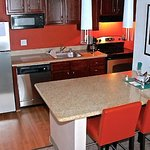 Newly Renovated Suite Kitchen