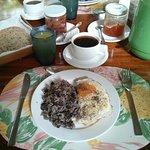 Frühstück in der Fina