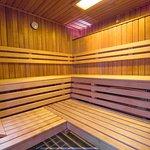 Innenbereich Sauna