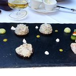Tasty and well presented starter