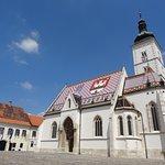 Kerk Zagreb Lotrscak Tower