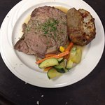 Prime Rib Dinner on Friday and Saturday nights