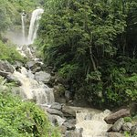 A Falls on the wayside of Himalyas.