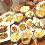 this how a rice table can look like.