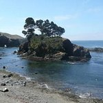Secret Mendocino Beach and Island Cove