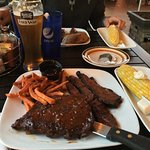 St Louis Ribs and brisket were great!