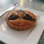 Prune and armagnac tart....mmmm Problem is do I eat the Mielle's French Platter first and risk n