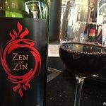 Large wine selection (2013 Ravenswood Zen of Zin)