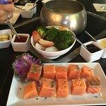 Salmon fondou
