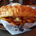 Regular serving Fish n Chips