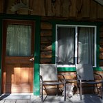 Miners cabin porch