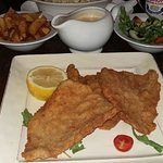 Veal Milanese with Al Pepe Sauce