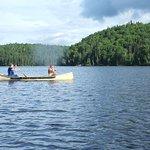 Balade sur le lac Castor
