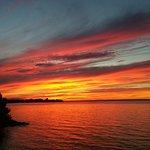 Lake Simcoe sunset at the Briars