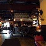 Bar area..