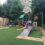 Childrens Play Area with Synthetic Surface