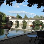 Pont de Mansle prise du jardin