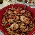 Gamberi & Capesante alla Siciliana