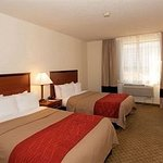 Relax in the Spacious 2 Beds Room